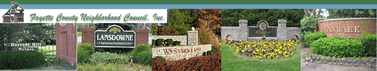 Fayette County Neighborhood Council